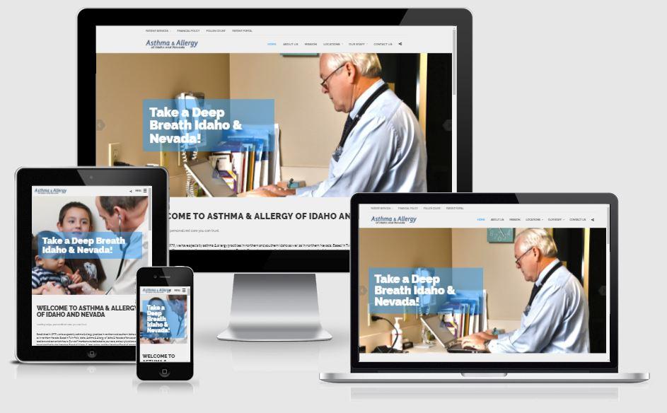 Asthma & Allergy of Idaho Website Design