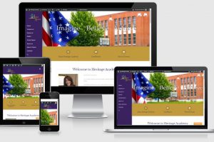 Heritage Academy Website Design
